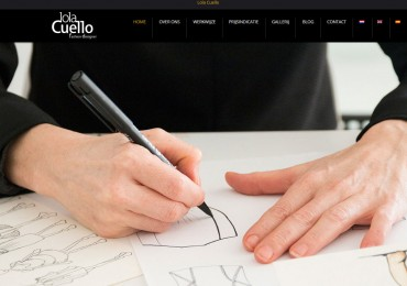 The new website of Lola Cuello